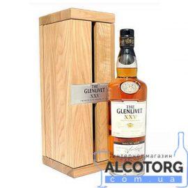 Віскі Гленлівет 25-років в декорованій коробці, The Glenlivet 25 Years Old 0,7 л.