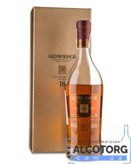 Віскі Гленморанджі Екстремал Рар 18 років, Glenmorangie Extremely Rare 18 years 0,7 л.