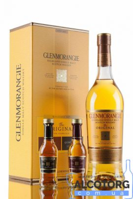 Віскі Гленморанджі Піонер Пак в коробці, Glenmorangie Pioneer Pack 0,8 л.