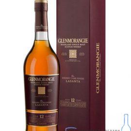 Віскі Гленморанджі Ласанта в коробці, Glenmorangie Lasanta 0,7 л.