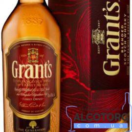 Віскі Грант'с Фемілі Резєрв в коробці, Grants Family Reserve 0,7 л.