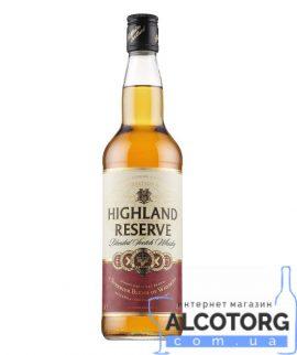 Віскі Хайленд Резєрв Скотч Віскі, Highland Reserve Scotch Whisky 0,7 л.