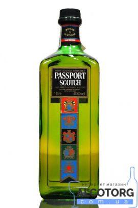 Віскі Пасспорт, Passport Scotch 1 л.