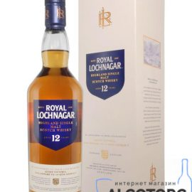 Віскі Роял Лохнагар 12-річний в коробці, Royal Lochnagar 12 years gift box 0,7 л.