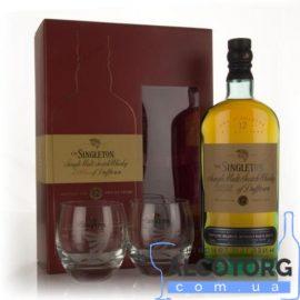 Віскі Сінглтон 12 річний + 2 стакани, Singleton of Dufftown 12 Years Old + 2 glasses 0,7 л.