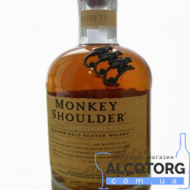 Виски Манки Шоулдер, Monkey Shoulder 1 л.