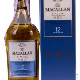 Віскі Макалан Файн Оак 12 років, Macallan Fine Oak 12 years 0,05 л.