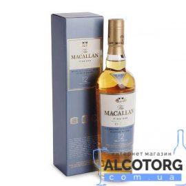 Віскі Макалан Файн Оак 12 років, Macallan Fine Oak 12 years 0,5 л.
