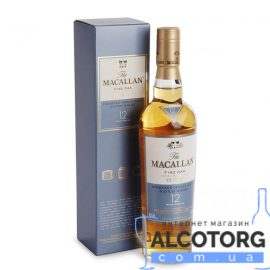 Віскі Макалан Файн Оак 12 років, Macallan Fine Oak 12 years 0,7 л.