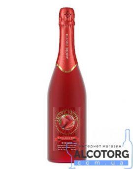 Напій на основі вина Амор Фрутті Полуниця Рожеве, Amore Frutti Strawberry 0,75 л.