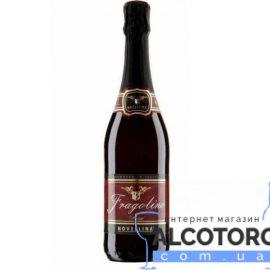 Напій На Основі Вина Фраголіно Россо Новелліна червоне солодке, Fragolino Rosso Novellina 0,75 Л.