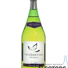 Винний ігристий напій Фрізантіно Бьянко Новелліна біле напівсолодке, Frizzantino Bianco Novellina 1,5 л.