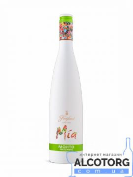 Винний Напій Міа Мохіто Фрізанте біле солодке, Mia Mojito Frizzante 0,75 л.