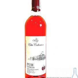Вино Розе напівсухе рожеве Чизай 0,75 л.