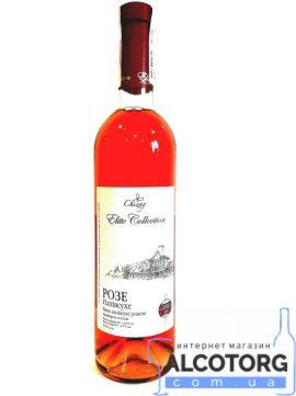 Вино Розе напівсухе рожеве Чизай 0