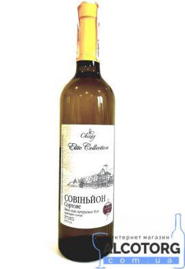 Вино Совіньон біле сухе Чизай 0,75 л.