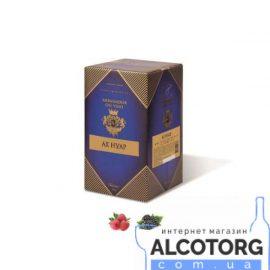 Вино Ах Нуар червоне напівсолодке Амбассадор 10 літрів.
