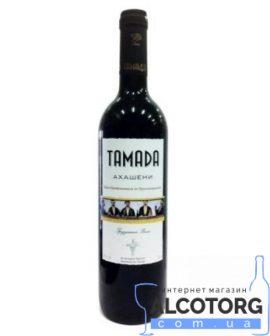 Вино Ахашені червоне напівсолодке Тамада, Akhasheni Tamada 0,75 л.