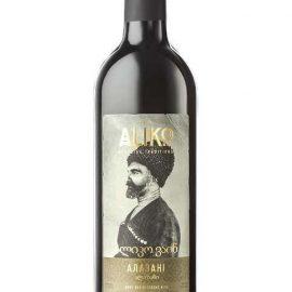 Вино Аліко Алазані напівсолодке біле