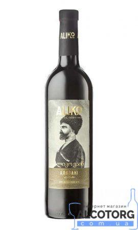 Вино Аліко Алазані напівсолодке біле, Aliko Alazani 0,75 л.