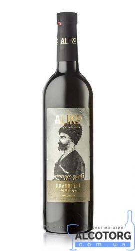 Вино Аліко Ркацителі сухе біле, Aliko Rkatsiteli 0,75 л.