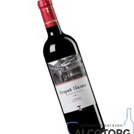Вино Алаверді Старий Тбілісі червоне напівсухе