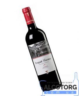 Вино Алаверді Старий Тбілісі червоне напівсухе, Old Tbilisi Alaverdi 0,75 л.