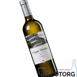 Вино Алазані Старий Тбілісі біле напівсолодке