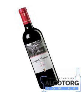 Вино Алазані Старий Тбілісі червоне напівсолодке, Old Tbilisi Alazani 0,75 л.