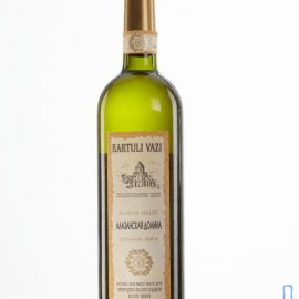 Вино Алазанська долина біле напівсолодке Картулі Вазі, Kartuli Vazi 0,75 л.