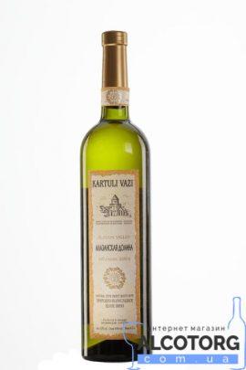 Вино Алазанська долина біле напівсолодке Картулі Вазі