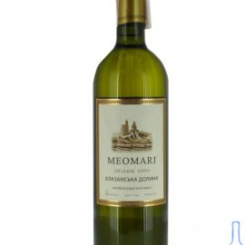 Вино Алазанская долина Меомари белое полусладкое, Meomari 0,75 л.