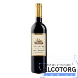Вино Алазанська Долина Меомарі червоне напівсолодке, Meomari 0,75 л.