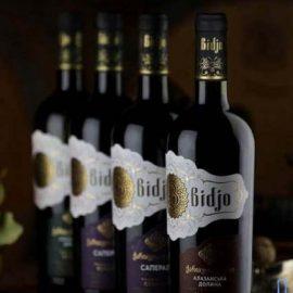 Вино Алазанська долина червоне напівсолодке Bidjo 0,75 л.