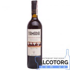 Вино Алазанська Долина червоне напівсолодке Тамада, Alazany valley Tamada 0,75 л.