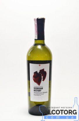 Вино Алазанська долина напівсолодке біле GH 0