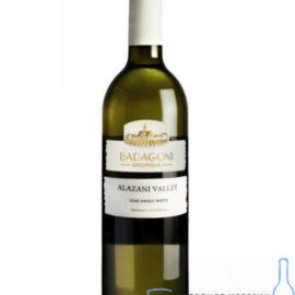 Вино Алазанська Долина Бадагоні біле напівсолодке