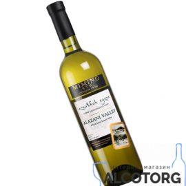 Вино Алазанська Долина Міміно біле напівсолодке, Alazani Valley Mimino 0,75 л.