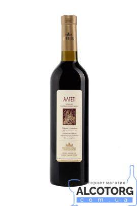 Вино Алгеті Вардіані червоне напівсолодке, Vardiani 0,75 л.