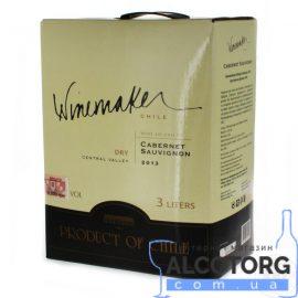 Вино Каберне Совіньон червоне сухе Вайнмейкер, Winemaker 3 л.