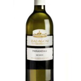 Вино Цинандалі Бадагоні біле сухе, Badagoni 0,75 л.