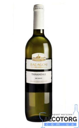 Вино Цинандалі Бадагоні біле сухе