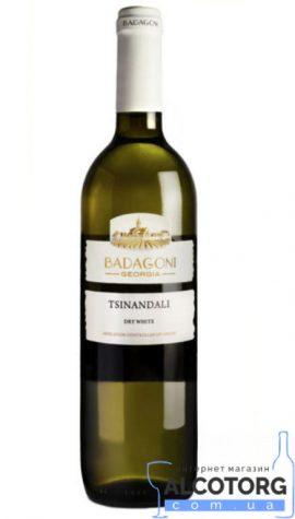 Вино Вазісубані Бадагоні біле сухе