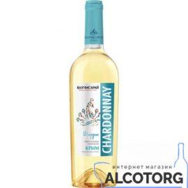 Вино Шардоне сухе біле Бахчисарай 0,75 л.