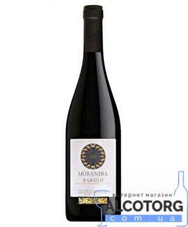Вино Бароло Моранера червоне сухе, Barolo D.O.C.G.14 Rosso Moranera 0,75 Л.