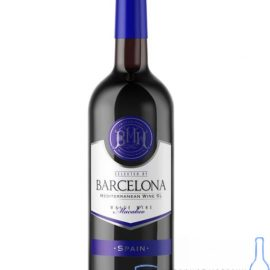 Вино Барселона біле сухе, Barcelona 0,75 л.
