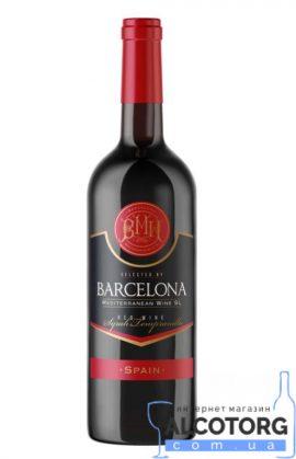 Вино Барселона червоне напівсолодке, Barcelona 0,75 л.