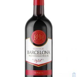 Вино Барселона червоне сухе, Barcelona 0,75 л.