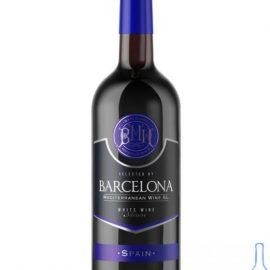 Вино Барселона напівсолодке біле, Barcelona 0,75 л.