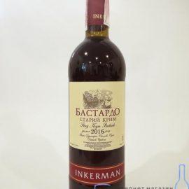 Вино Бастардо Старий Крим червоне сухе Інкерман 0
